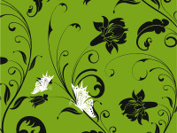 Fashion-Flower-and-Butterfly-Vector-Pattern