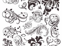 Vintage-Floral-Elements-Vector-Set