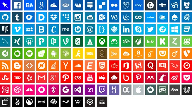 100-Free-Simple-Icons