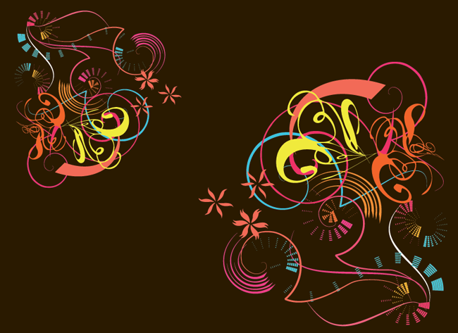 Colored-Vector-Elements