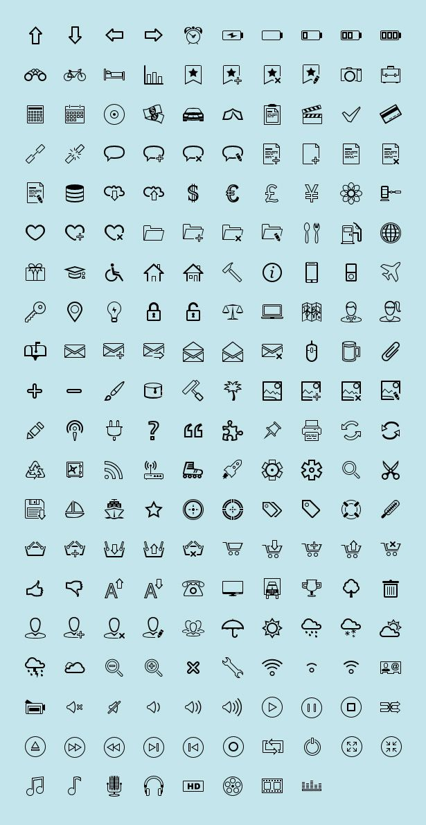 Free-Outline-Icons