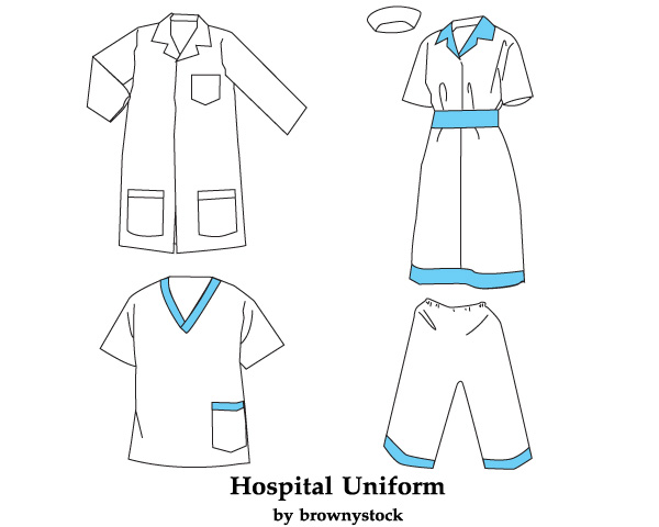 Hospital-Uniform-Vector-Free