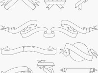 Ribbons-and-Scrolls-Free-Vector-Pack
