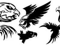 Tattoo-Eagle-Free-Vector
