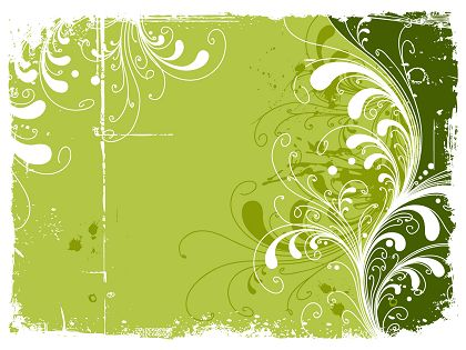 Trend-Green-Flowers-Pattern-Vector