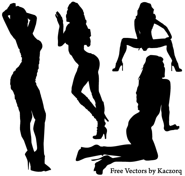 Vector-Girl-Silhouettes