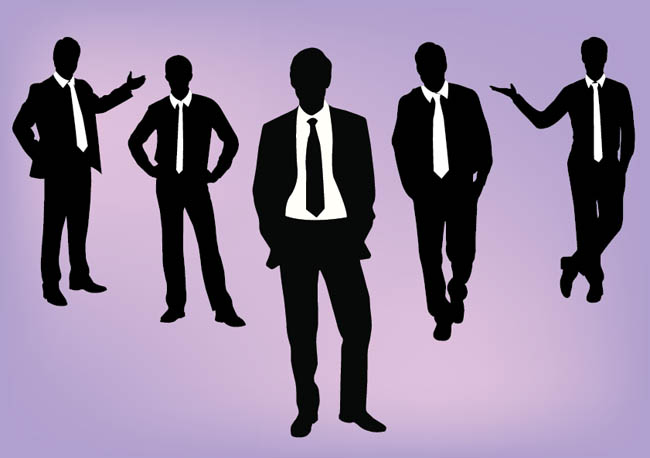 Business-People-Silhouette-Vector