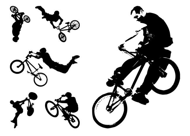 Extreme-Bikers-Vector