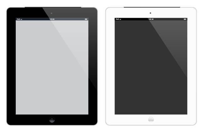 Free-Apple-iPad-3-Vecter-Mockup