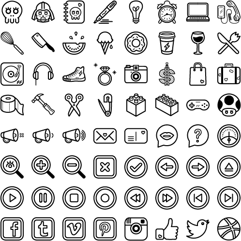 Free-Fun-and-Quirky-Icon-Set