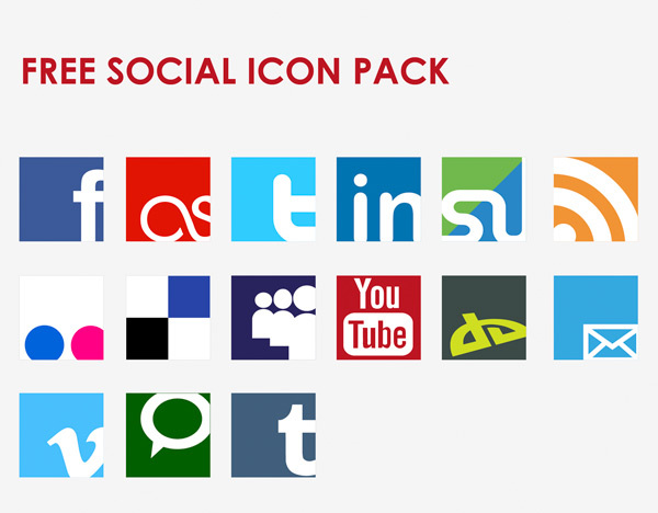 Icon-Vector-Social-Network-Set