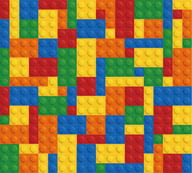 Lego Brick Background Vector Graphic Free Vector Site