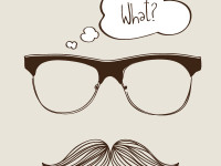 Mustache-and-glasses-Vector-Graphic