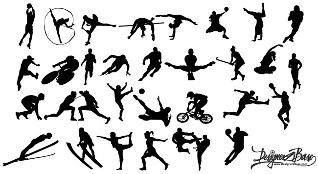 Sports-Silhouettes