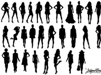 Vector-Fashion-Model-Silhouettes