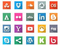40-Social-Media-Flat-Icons