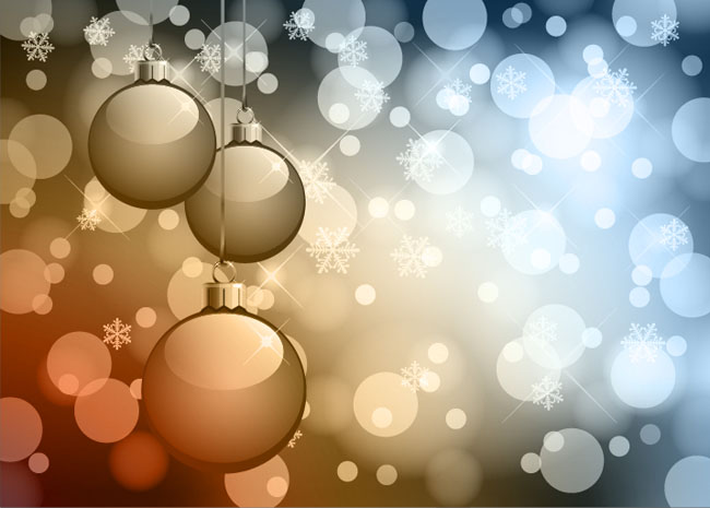 Abstract-Bokeh-Background-Christmas-Vector-Graphic