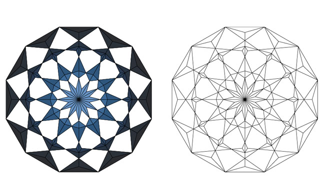 Carving-2D-pattern-lattice-network