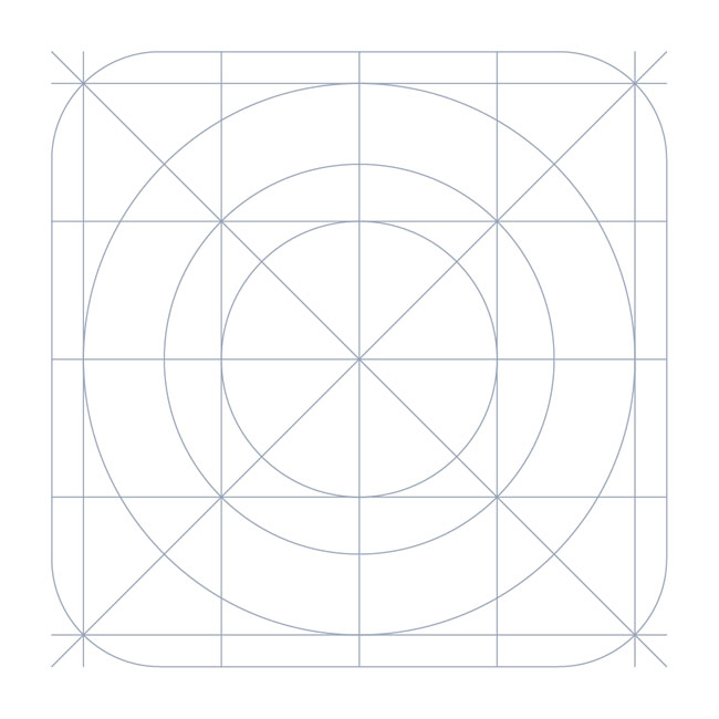 Download iOS7 Grid system Icon Template - Free Vector Site ...