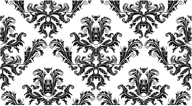 Free-Damask-Seamless-Pattern