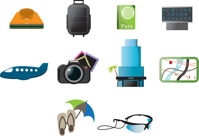 Free-Travel-Icons