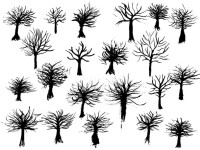 Free-Vector-Ink-Trees
