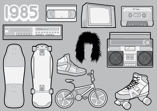 Free-Vector-Pack-80s-Icons