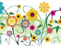 Free-Vector-Retro-Flowers