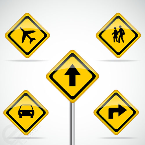 Free-Vector-Road-Signs