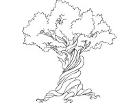 Free-Vector-Tree-Earth-Week