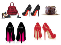 Ladies-shoes-and-handbags-Vector