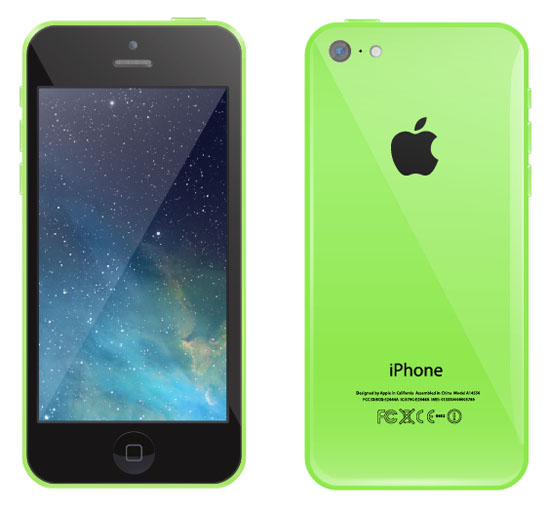 iPhone-5c-Vector