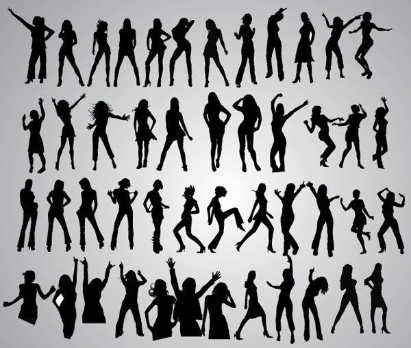 47-Girls-Dancing-Poses-Silhouettes