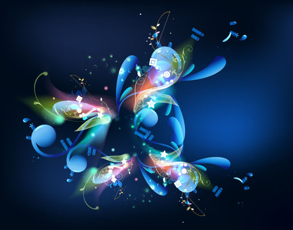 Colorful-Floral-Design-Vector-Background