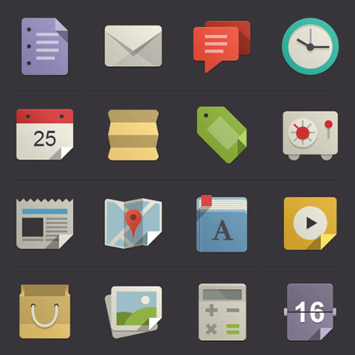 Flat-Design-Icons-Set