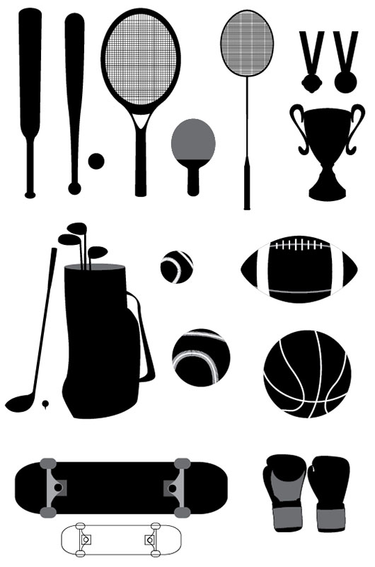 Sport-Stuffs-Vectors-Graphics