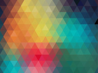 Trend-color-neon-background