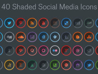 40-Free-Shaded-Social-Media-Icons