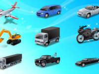Icons-Land-Transport-Vector-Icons