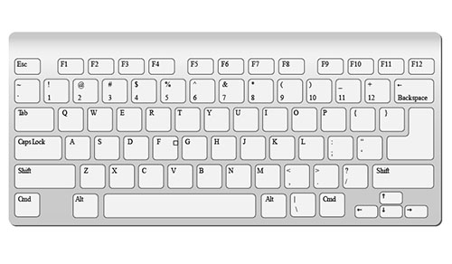 iMac-Keyboard-Vector