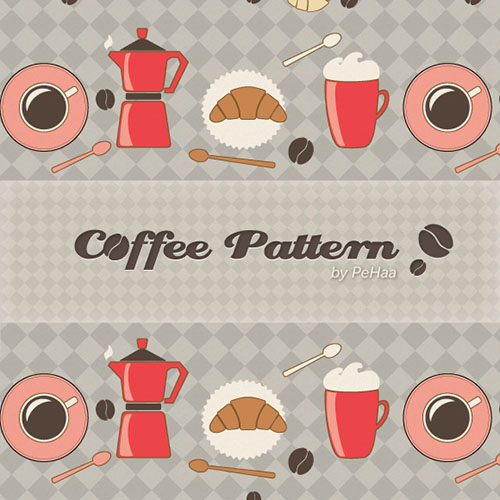 Coffee-Seamless-Vector-Patterns