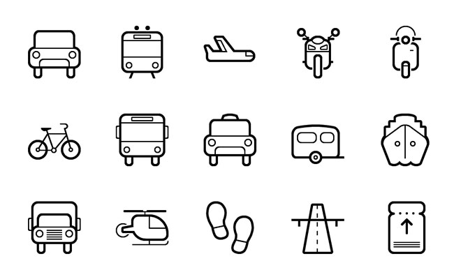 Transport Icons Vector Free Download 15-transportation-vector-icon