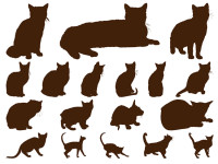 18-Cats-Silhouettes-Graphics