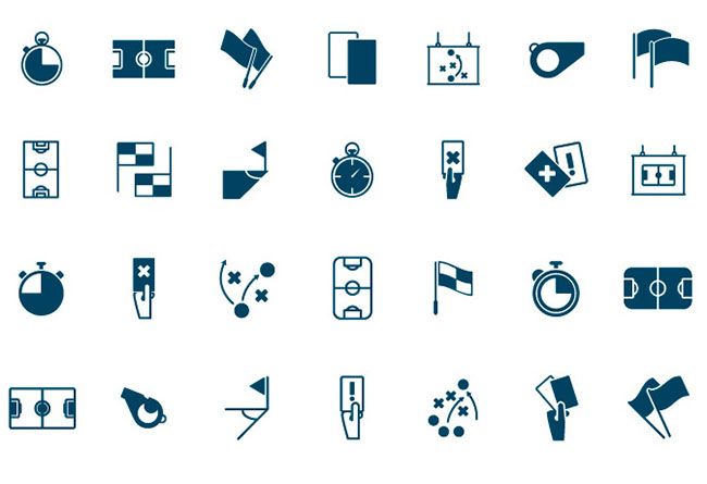 85-high-quality-football-related-icons