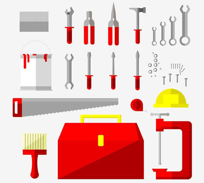 Construction Tools Vector Graphic - Free Vector Site ...
