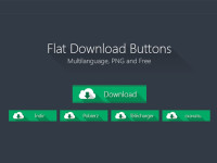Flat-Download-Button-PNG-Multilanguage