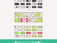 40-Battery-Vector-Icons