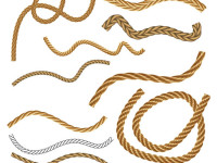 Seamless-Vector-Rope-Collection