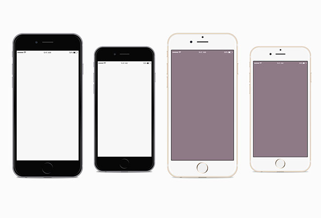 iPhone-6-and-iPhone-6-Plus-Vector-mockups