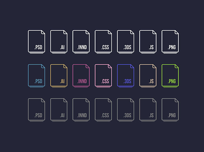 21-Free-Vector-File-Extension-Icons